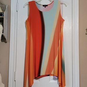 NWOT LBISSE Sharktail Tunic/Dress